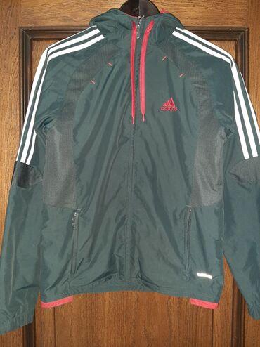 Тёплая Adidas олимпийка