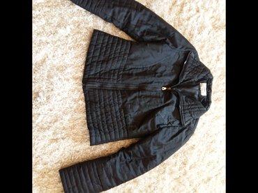 Stepana crna jaknica, model je strukiran. Nije za debele zime, vec za - Novi Sad - slika 2