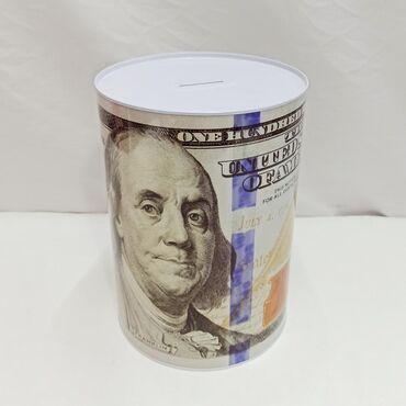 Копилка 100 долларов - для самых больших сбережений!!⠀Размер копилки в