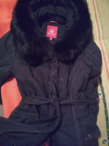 Продаю длинный зимний пуховик б/у. в Бишкек