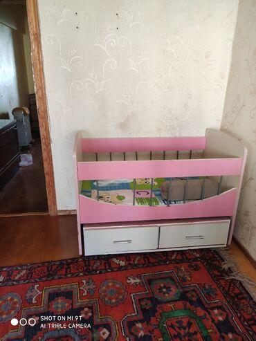 2 х спальную кровать в Азербайджан: Кроватка б/у за 50 ман