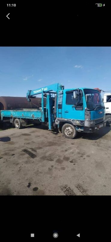 Автоуслуги - Кыргызстан: Кран манипулятор кран 3 тонны грузоподъёмность борта 5 тонн