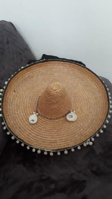 Sako sa - Srbija: Novi šešir od slame sa manjim oštećenjem kupljen u Španiji