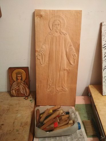 Брусчатка фото цена - Кыргызстан: Православные иконы ручной работы. Резьба по дереву. Цена от 5000 с