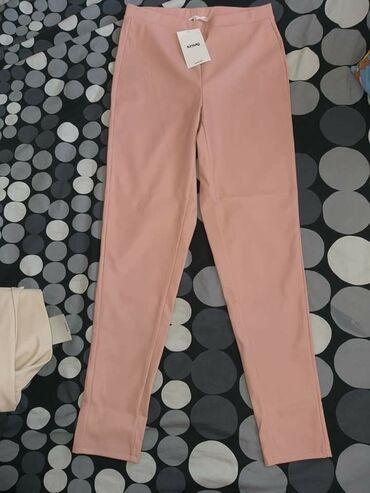 Pantalone kozne - Srbija: Nove kozne pantalone bez i roze. Roze L,bez su M. Imaju elastina. Kom