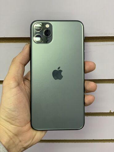 продам iphone 11 pro в Кыргызстан: Б/У IPhone 11 Pro Max 256 ГБ Зеленый