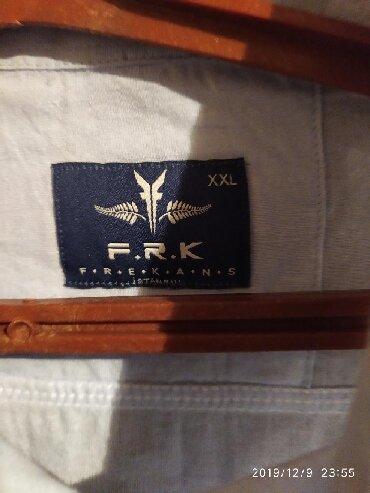 голубая рубашка мужская в Кыргызстан: Мужские рубашки XXL