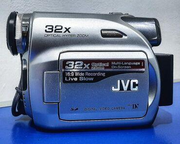 JVC 32X-800X OPTİCAL ZOOM KAMERA-Daşınma çantası və zaradkayla
