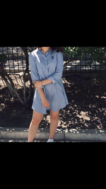 Платье :хлопокразмер Lсидит прекрасно