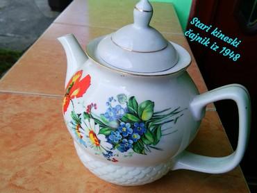 Stari orginal kineski čajnik kupljen u Kini iz 1948g. cena 10€+120
