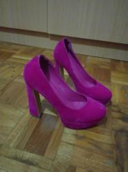 Ženska obuća | Obrenovac: Elegantne štikle broj - 37, visina stikle 12 cm