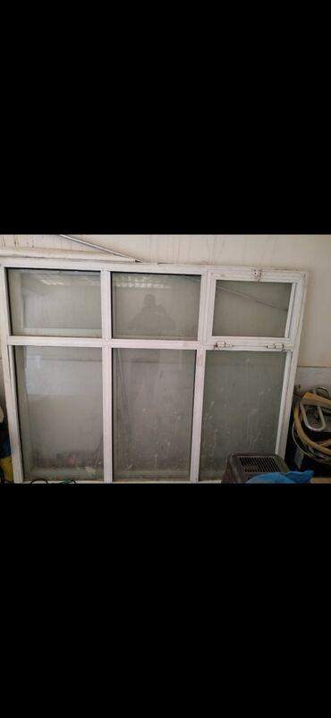 pencere - Azərbaycan: Satılır 2 eded plastik pencere ölçü 2 metrin 1.60 sm qiymet 70 AZN