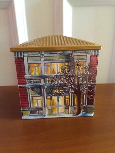 Kutija limena kuca,prelep detalj na vasoj kuhinji,nije koristena - Sombor