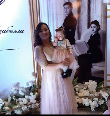 платья для кормящих мам бишкек в Кыргызстан: Продаю Платье Мама дочь одевали один раз размеры S-M размер 6мес-1 г