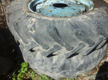 Горные колеса от трактора т40 резина в Тюп