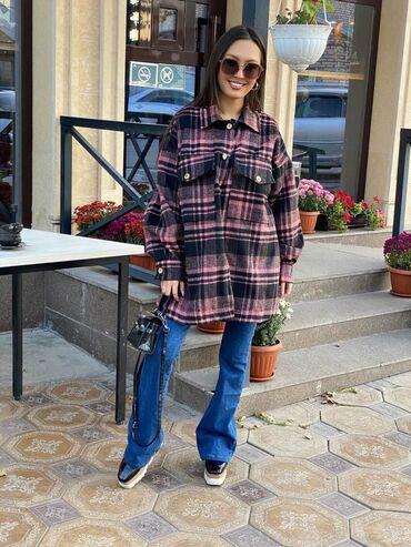 Стильная и очень тёплая рубашка  inst: rinel_shop