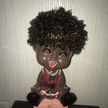 Кукла керамическая с подвижной головой  в Бишкек