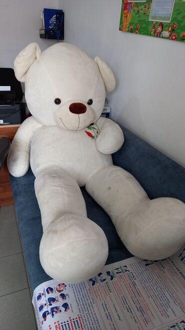 токмок квартира сдаётся in Кыргызстан | ПОСУТОЧНАЯ АРЕНДА КВАРТИР: Продаю 2 метровую белую пушистый мишку обрадует всех