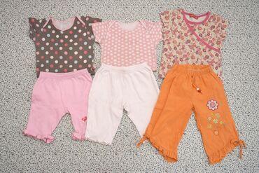 мужские шорты в Кыргызстан: Пакет вещей на девочку 18 месяцев. Лето. Всего 6 предметов. 1-2. Боди