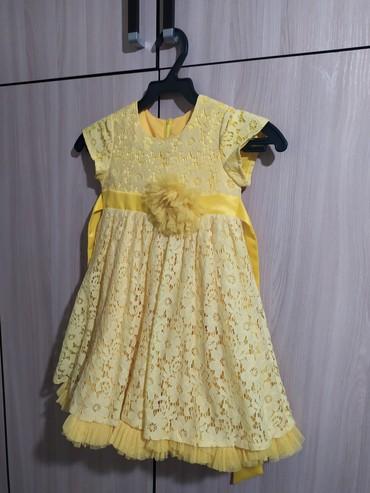Новое платья для девочки до 5лет очень красивое . состояние идеальное. в Бишкек
