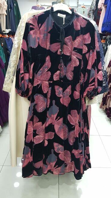 панбархат платья in Кыргызстан | ПЛАТЬЯ: Платье из Панбархата, 52 размера, Турция