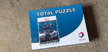 Puzzle - Srbija: Na prodaju Total puzzle kao nove. Slanje brzom postom ili licno