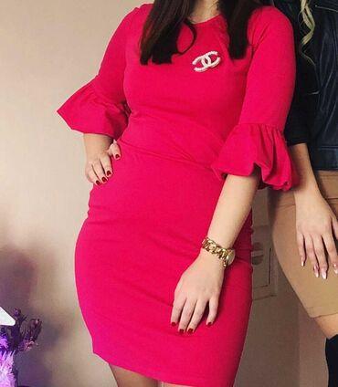 Pink kosuljoca - Srbija: Pink haljina velicina univerzalna
