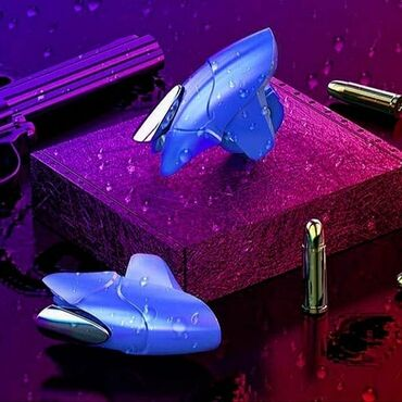 Blue Shark Game Джойстик Стрелка Кнопка Fire Trigger для PUBG для