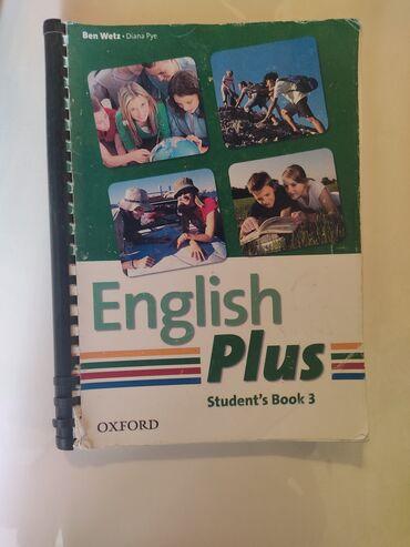 english home бишкек in Кыргызстан   КИТЕПТЕР, ЖУРНАЛДАР, CD, DVD: English plus Student's book 3 and work book 3