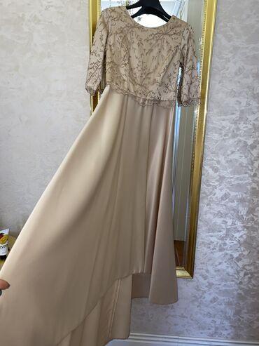 Платья - Бишкек: Вечернее платье сшито было на заказРазмер МДлина в полИдеальное