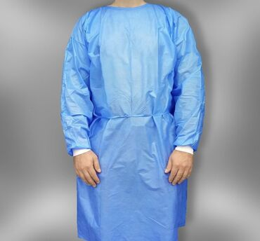 Медицинская одежда - Кыргызстан: Одноразовые медицинские халаты оптом!  30 гр  40 гр