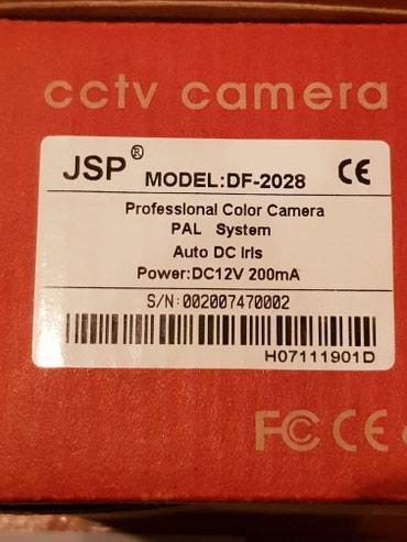 Камера видеонаблюдения с объективом 2.8, аналоговая JSP в Бишкек - фото 5