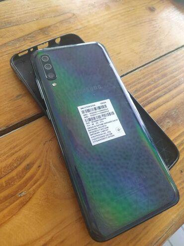Mobil telefon və aksesuarlar Hacıqabulda: Samsung a70 teze veziyyetde. 1 ayin telfonudu