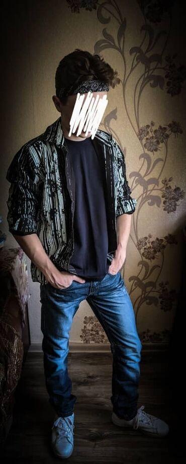 alfa romeo mito 14 tct в Кыргызстан: Продаю подростковую рубашку и джинсы  Производство Германия На 14-15 л