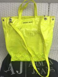 sako sa u Srbija: Armani jeans neon torba, sa originalnim pakovanjem