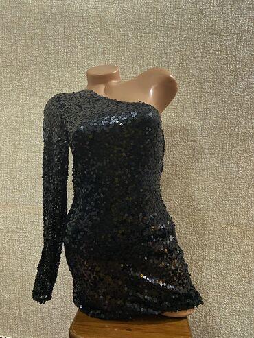 Стильное вечернее платье  Размер S (44)