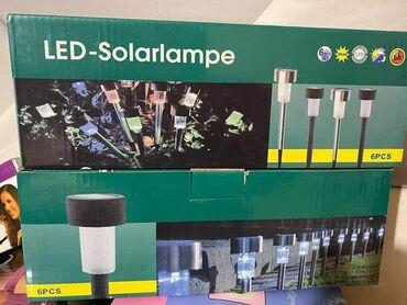 Solarne lampe 6 kom u pakovanju. Cena 1600 din