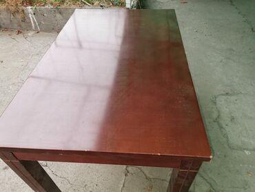 stol kuhannyj в Кыргызстан: Продаю стол в хорошем состоянии.длина 130.5см. Высота 76.5.ширина 80.5