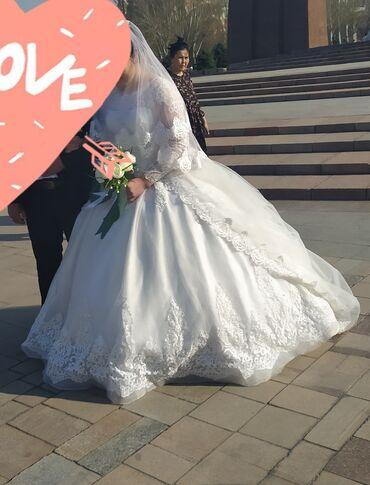 Свадебные платья и аксессуары - Кыргызстан: Комплект свадымный Койнок сатылат