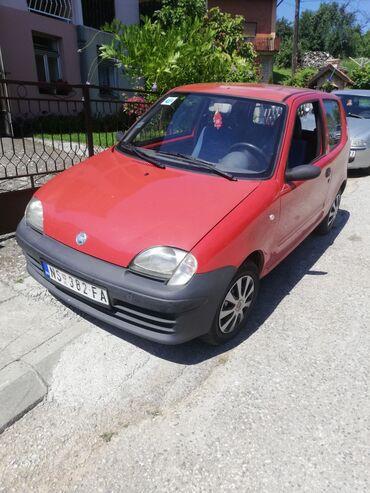 Manuel - Srbija: Fiat Seicento 1.1 l. 2002   107700 km