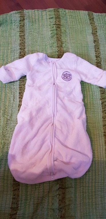 Skafander za bebe - Pozarevac: Vreca za spavanje za bebe,sa rukavima,duga je 70cm
