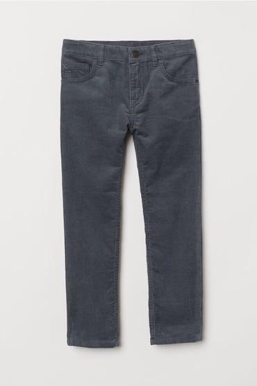 Новые вельветовые брюки на мальчика НМ, размер 6-7 лет в Бишкек