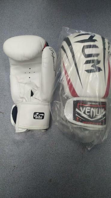 Перчатки - Кыргызстан: Боксерские профессиональные перчатки VENUM в спортивном магазине SPORT