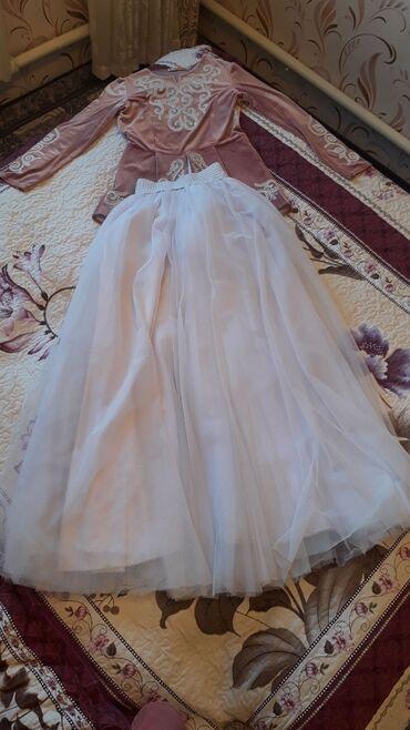 бу вечернее платье размер 46 в Кыргызстан: Кыз узатууга кийилген койнок сатылат Размер 46