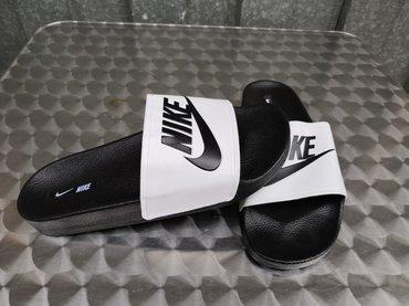 Nike Muske Crno-Bele Papuce!40-45-NOVO- - Nis
