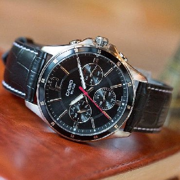 Черные Мужские Наручные часы Casio