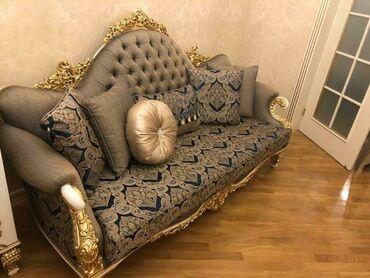 - Azərbaycan: Qonaq desti: qorka, kamod, stol 8 stul divan kreslo ve jurbalni