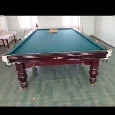billiard - Azərbaycan: Bilyard stolu 6000azn satilir. Ustu mermerdir. 1ay islenib