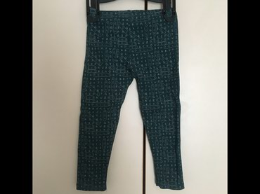 Zimske helanke pantalonemoderna zelena boja esirina - Srbija: Helanke Zara velicina 98 2 puta obucene pamuk, boja tamno zelena