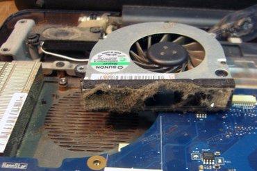 Gəncə şəhərində Komputer təmiri, profilaktika (tozdan temizlenmesi), temperaturun